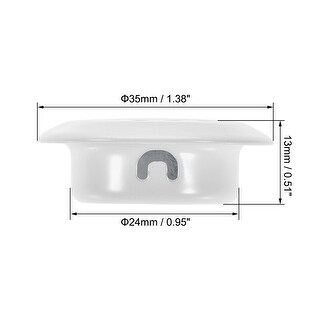Round Air Vents, Fit 0.98