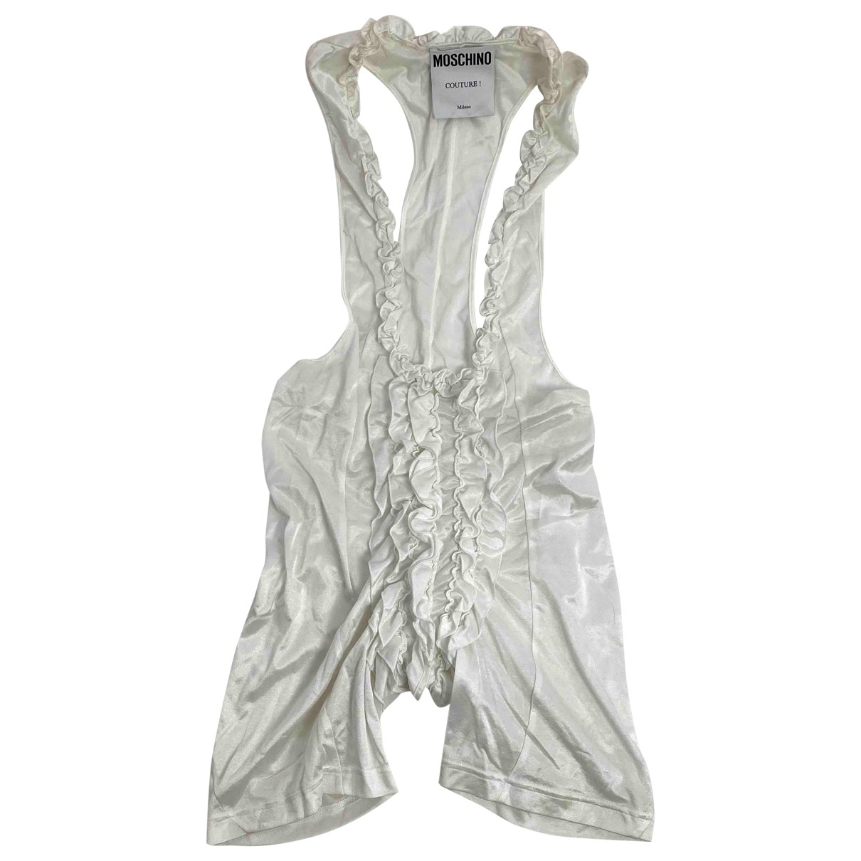 Moschino \N White jumpsuit for Women 50-52 IT
