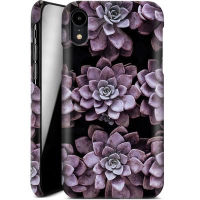 Apple iPhone XR Smartphone Huelle - Purple Succulents von caseable Designs