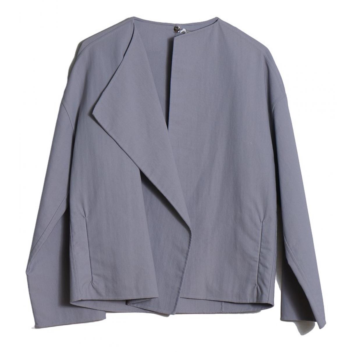 Blonde No.8 - Veste   pour femme en coton - gris
