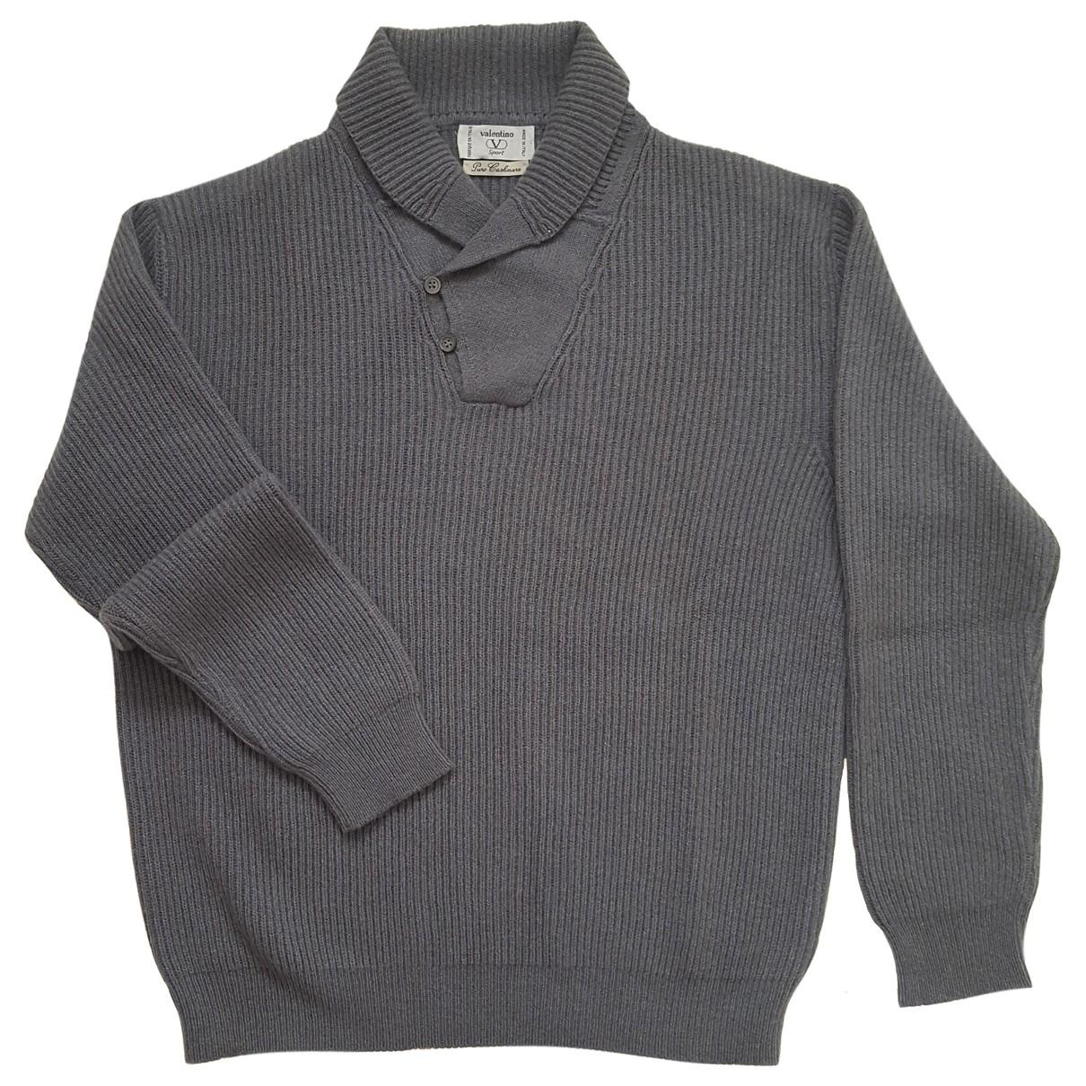 Valentino Garavani - Pulls.Gilets.Sweats   pour homme en cachemire - gris