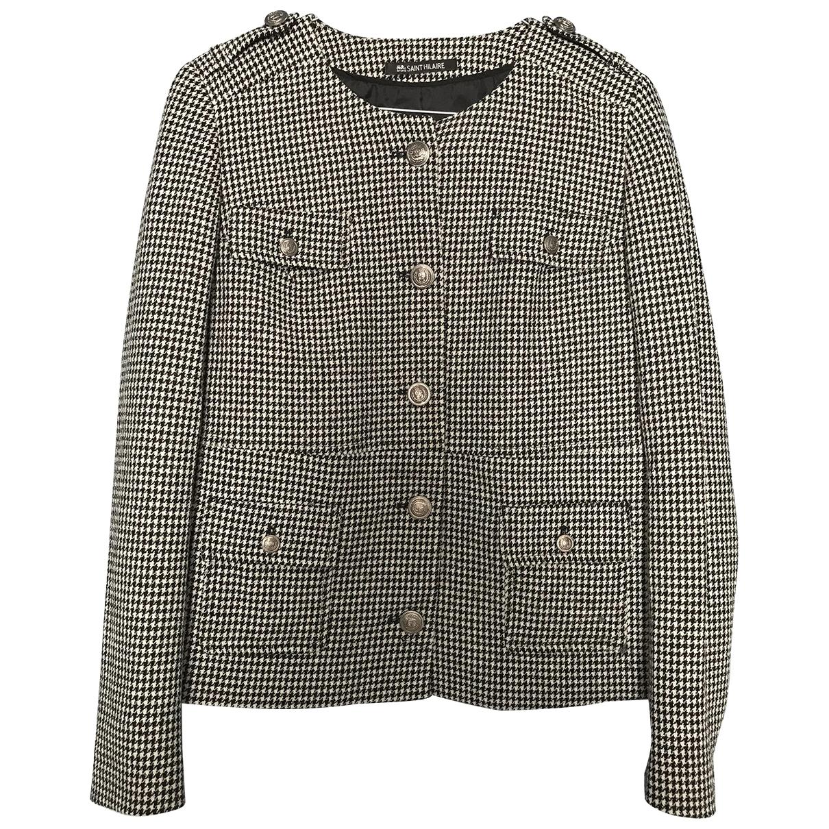Non Signé / Unsigned \N Multicolour Cotton jacket for Women 38 FR