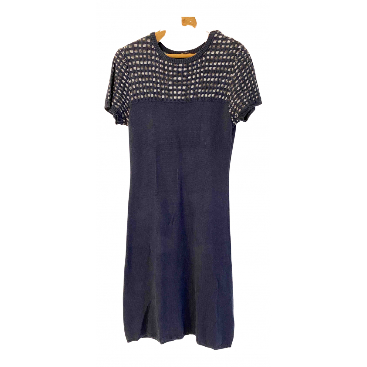Agnès B. \N Navy Cotton dress for Women 2 0-5