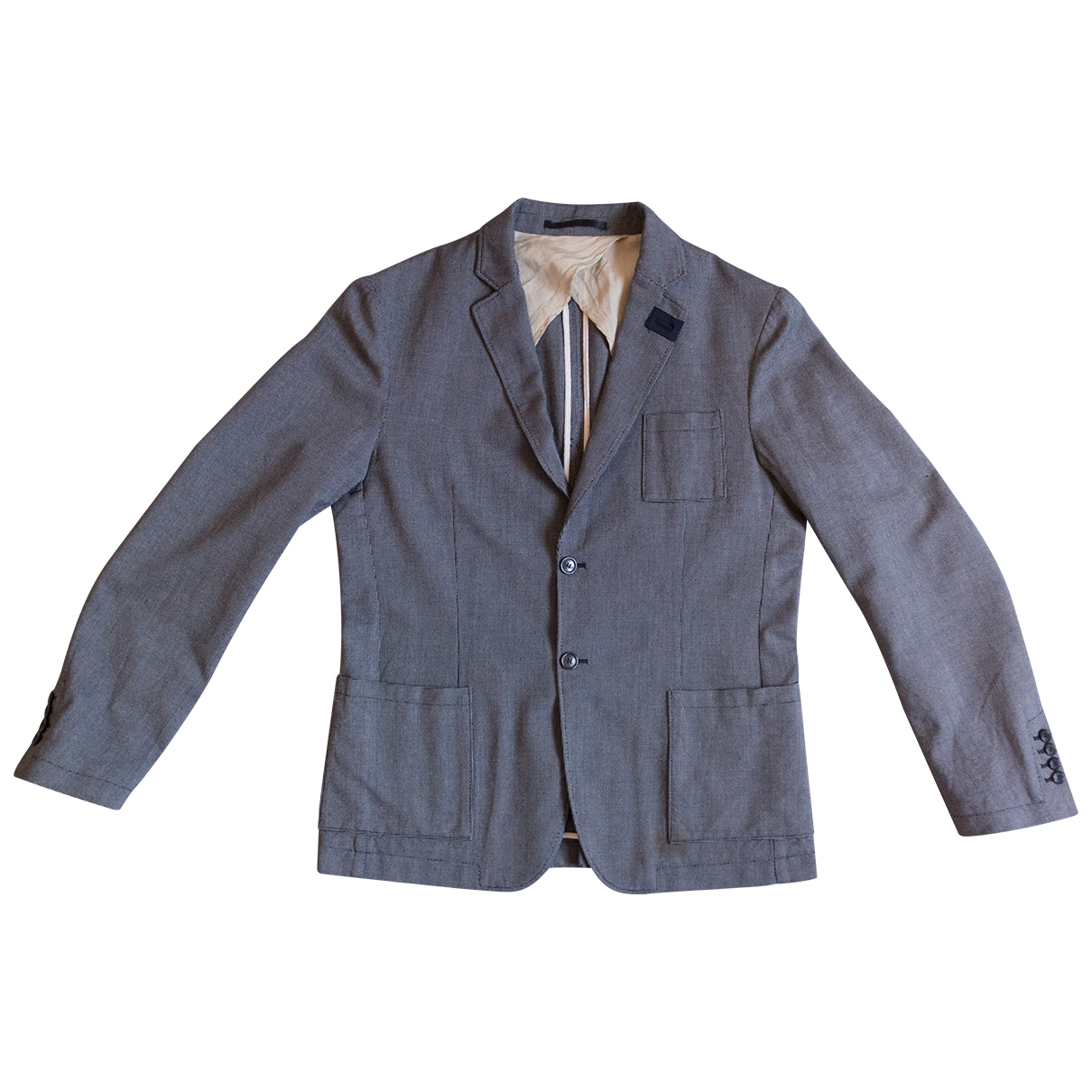 Mauro Grifoni \N Grey Cotton jacket  for Men 52 IT