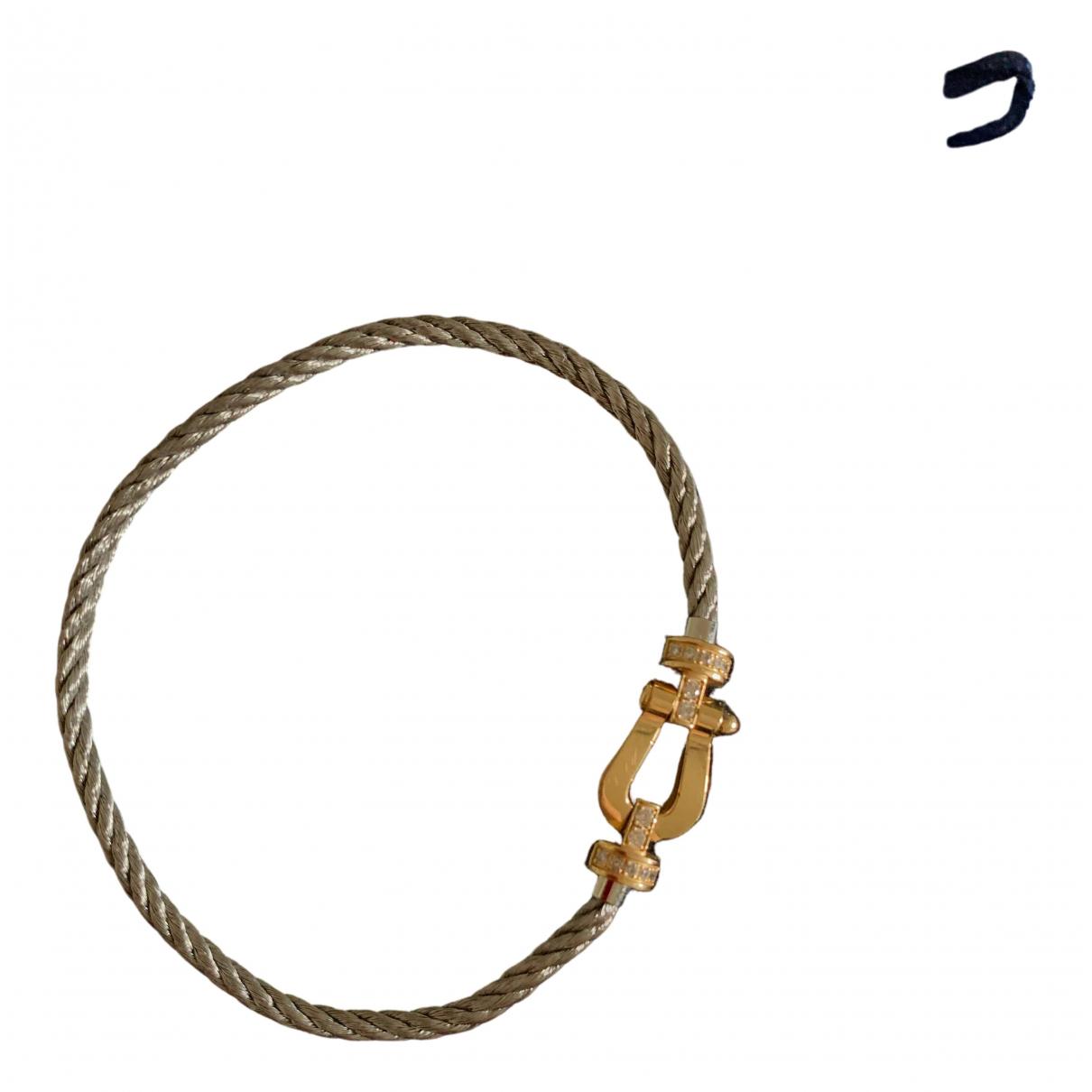 Fred - Bracelet Force 10 pour femme en or jaune - dore