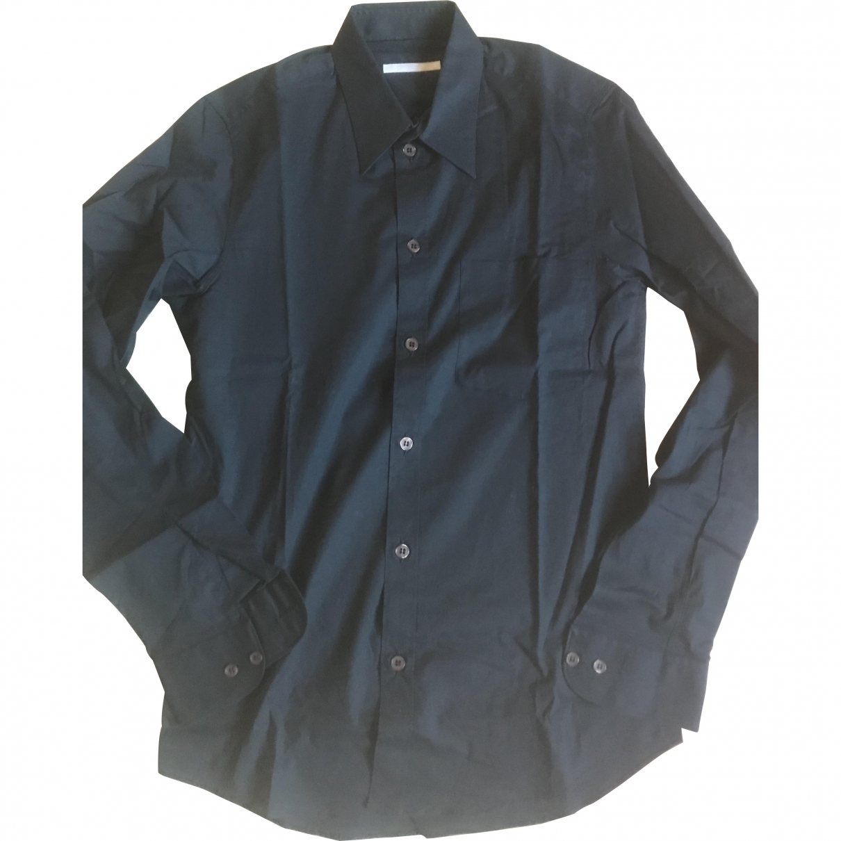 Helmut Lang \N Hemden in  Marine Baumwolle