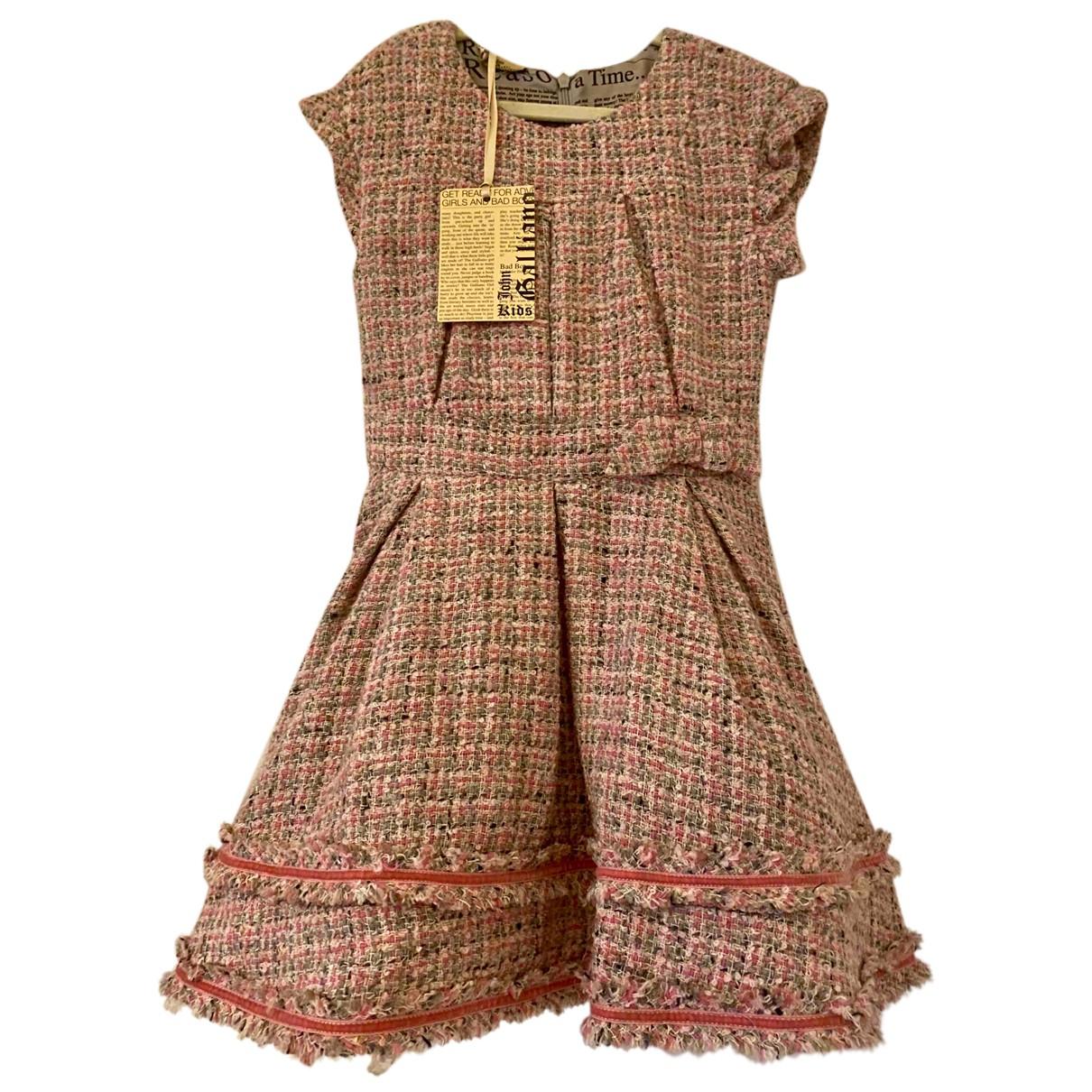 John Galliano \N Kleid in Wolle
