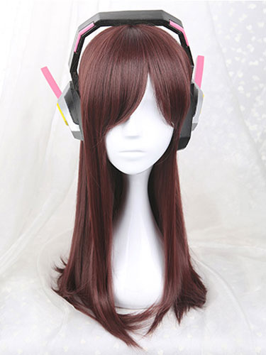 Milanoo D.VA Overwatch OW Hana Song Cosplay Earphone Cosplay Props Halloween