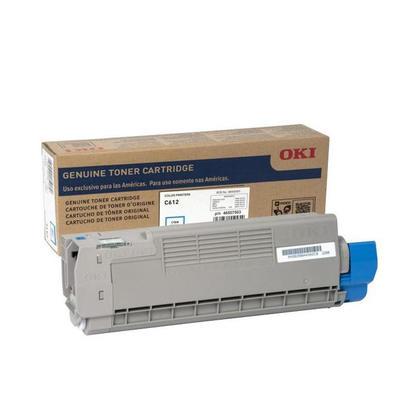 Okidata 46507503 Original Cyan Toner Cartridge