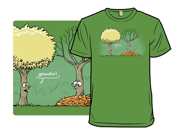 Sneezy Tree T Shirt