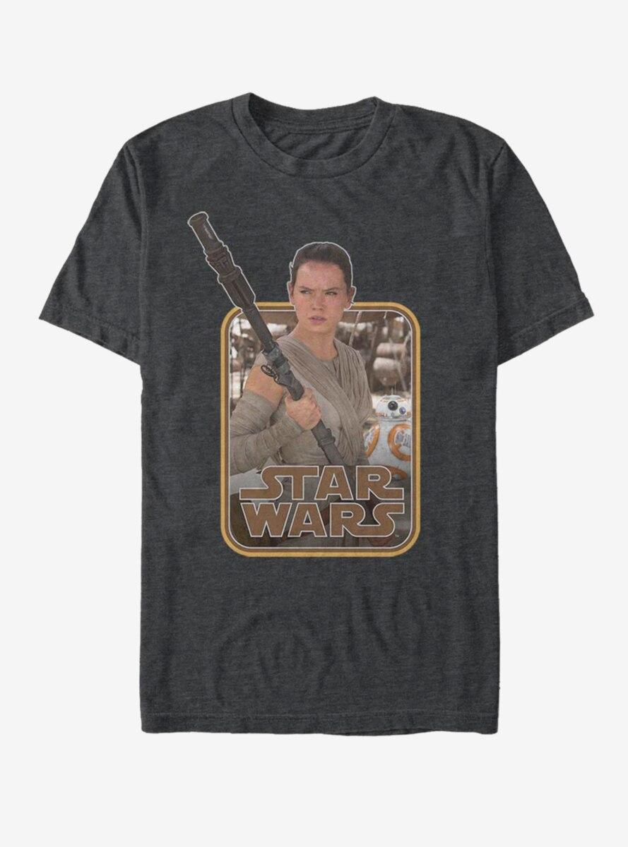 Star Wars Rey Classic Staff T-Shirt
