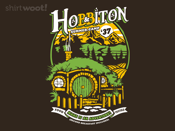 Middle Earth Summer Camp T Shirt