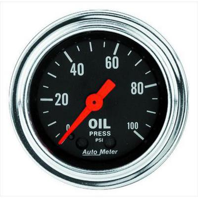 Auto Meter Traditional Chrome Series Oil Pressure - 2421