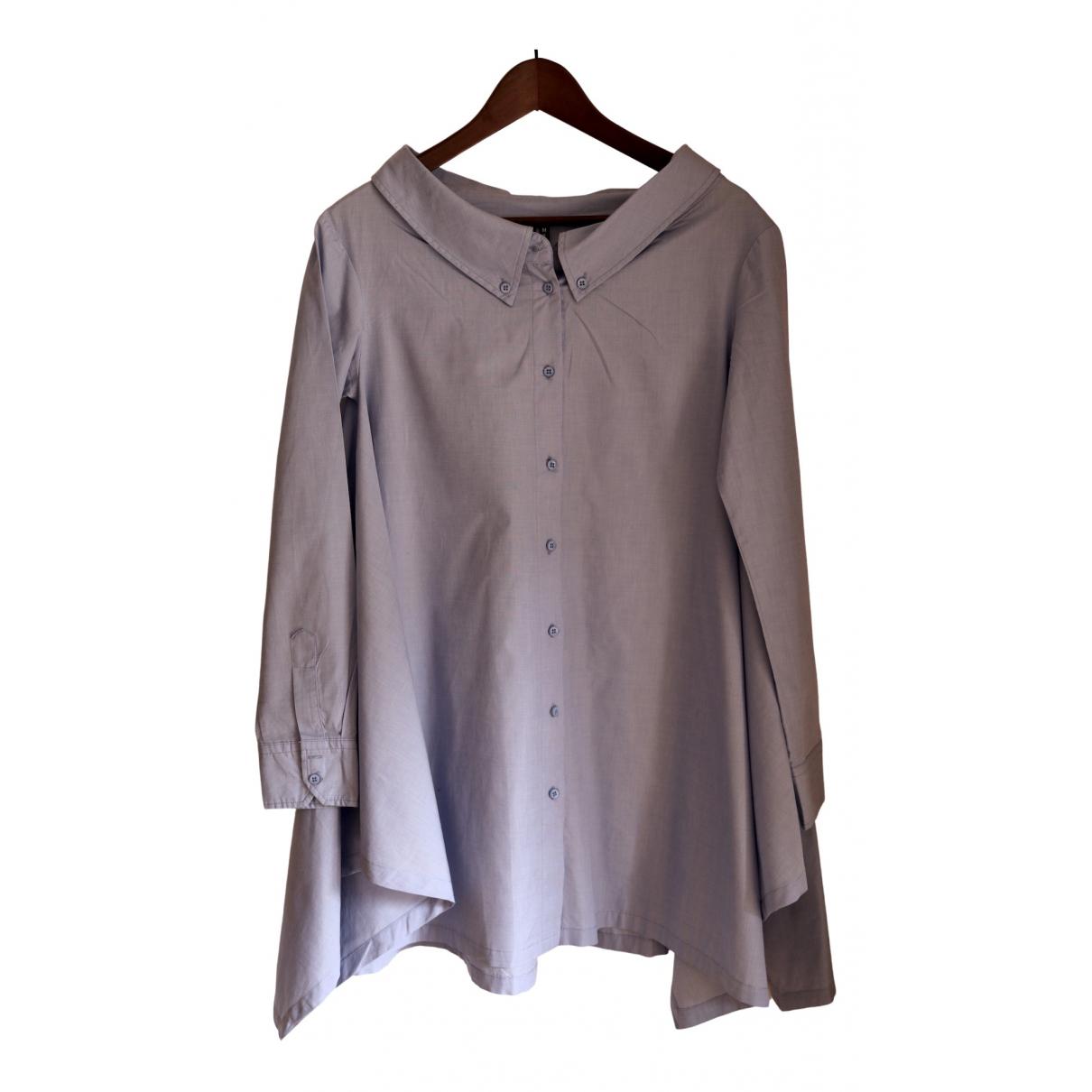 Imperial - Robe   pour femme en coton - bleu