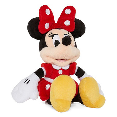 Disney Collection Red Minnie Mouse Mini Plush, One Size , No Color Family