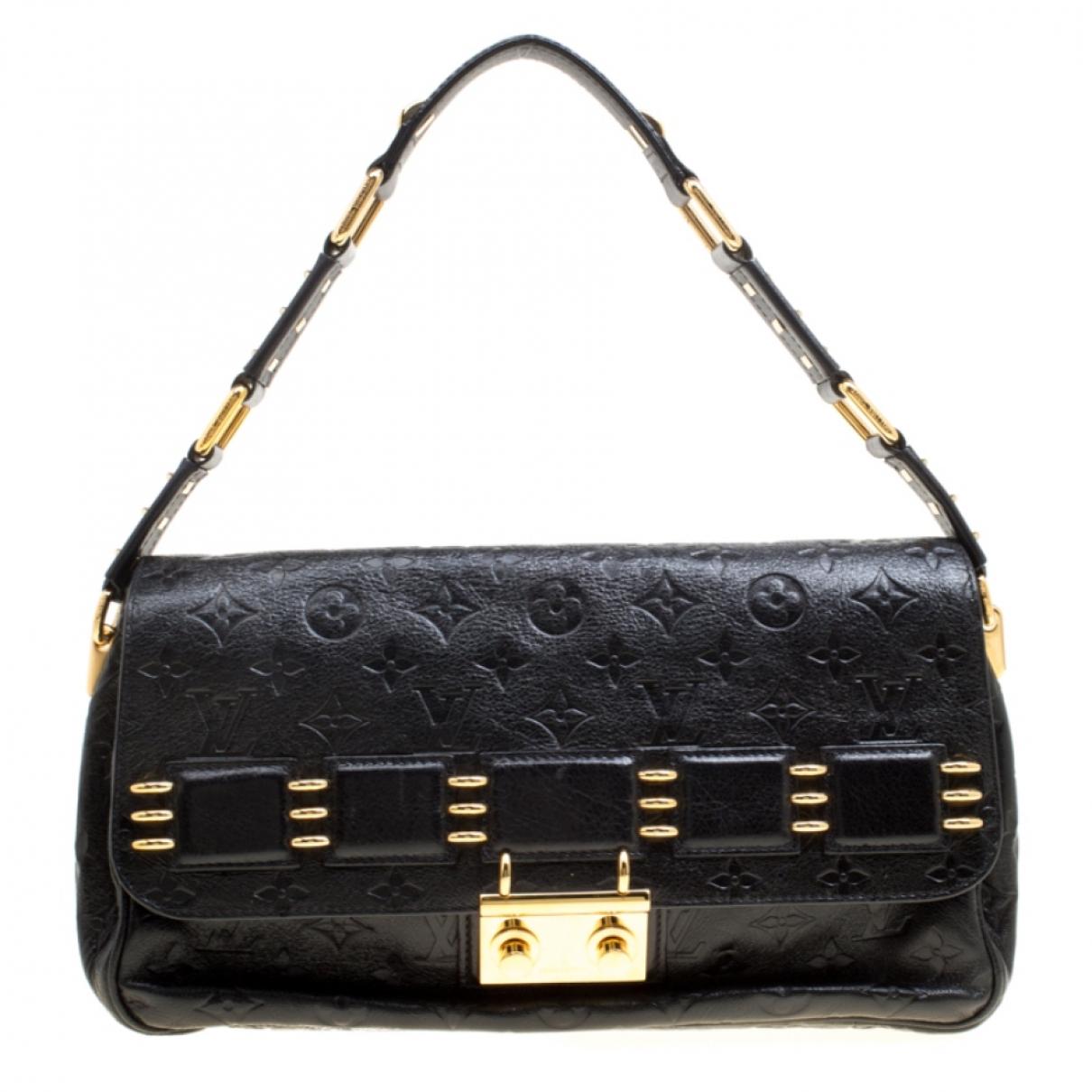 Louis Vuitton \N Handtasche in  Schwarz Leder