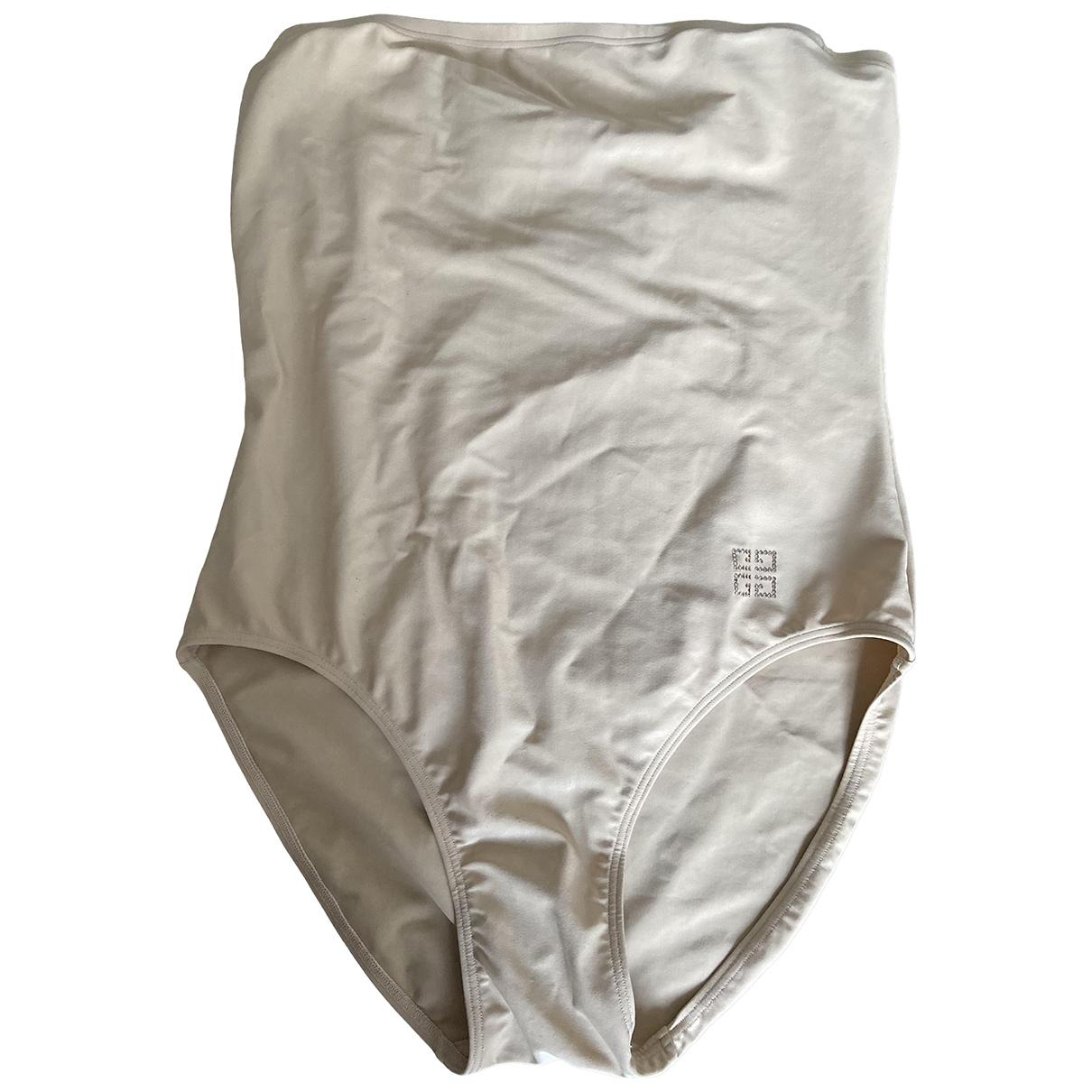 Givenchy \N Badeanzug in  Beige Lycra