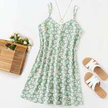 Daisy Floral Print Cami Dress