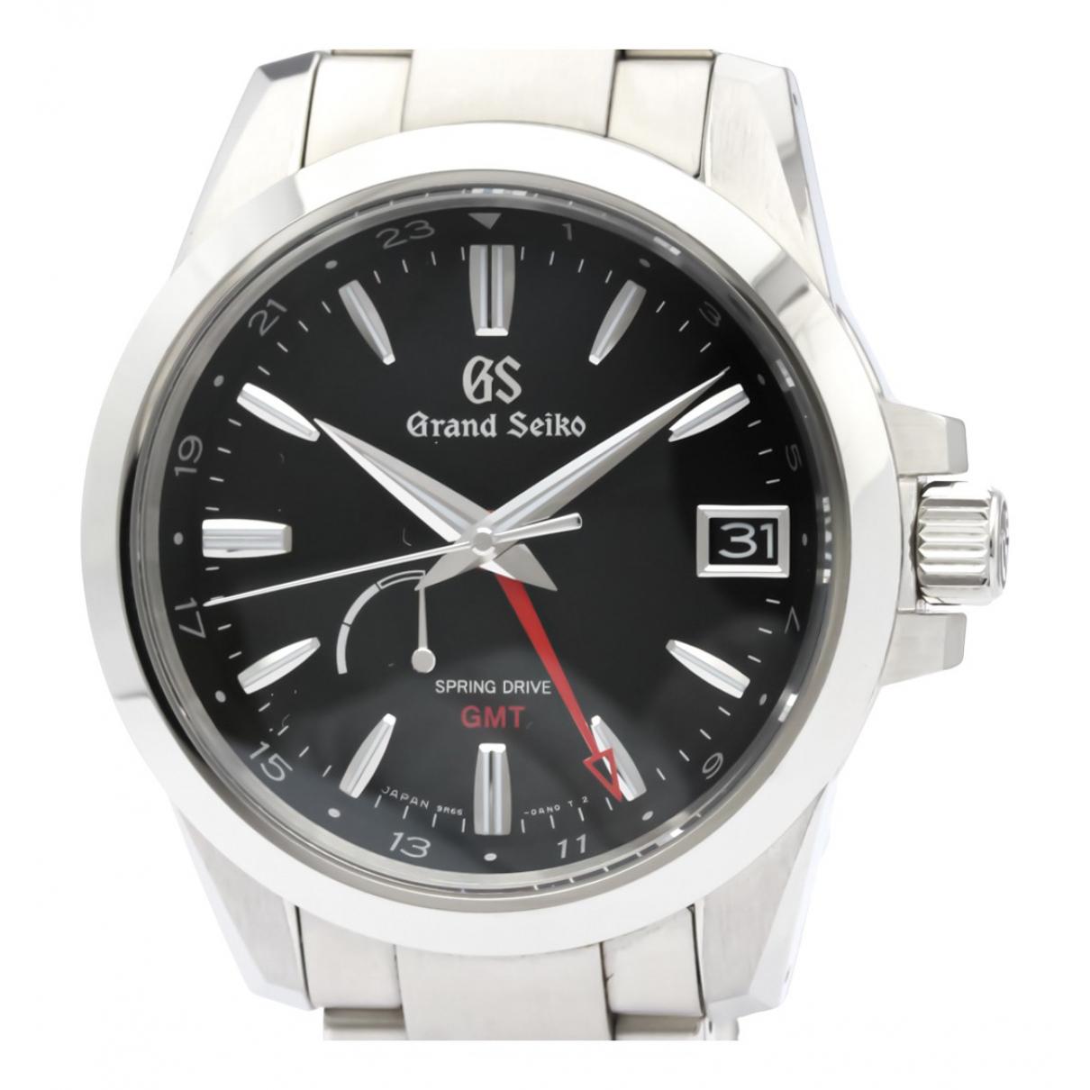 Grand Seiko N Black Steel watch for Men N