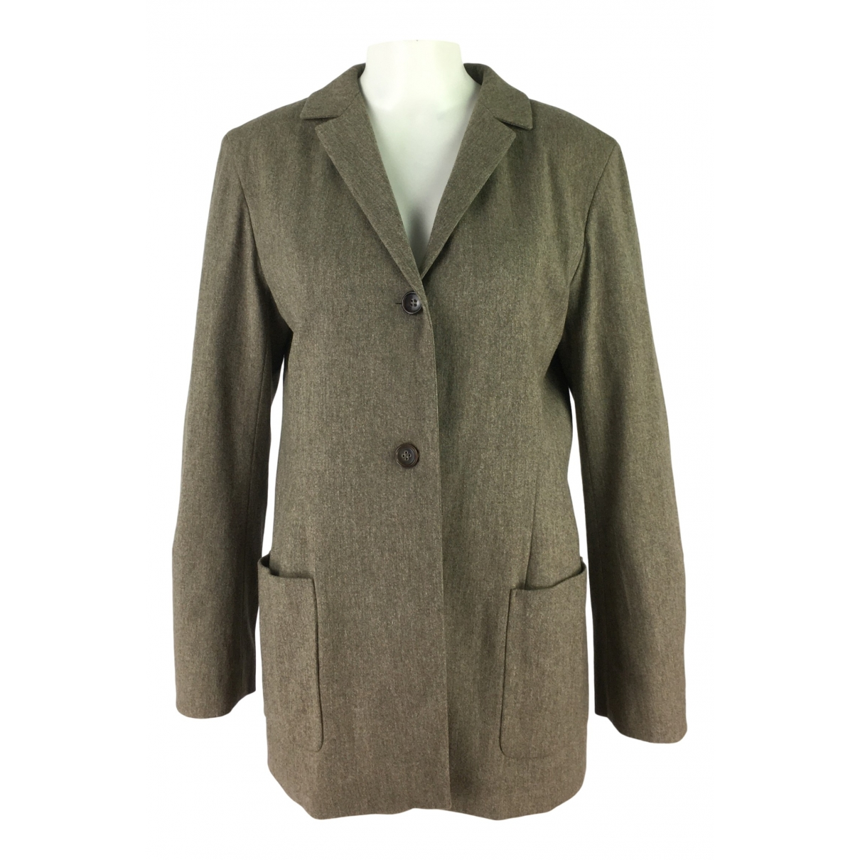 Jil Sander - Veste   pour femme en laine - marron
