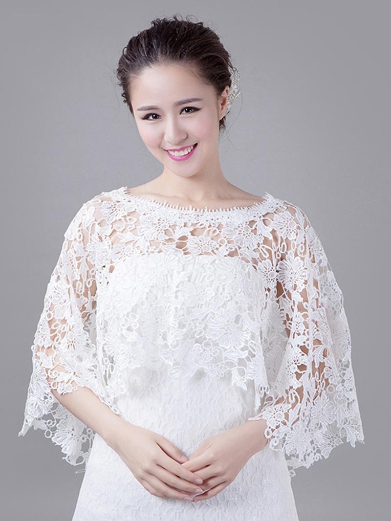 Pretty Lace Wedding Wrap
