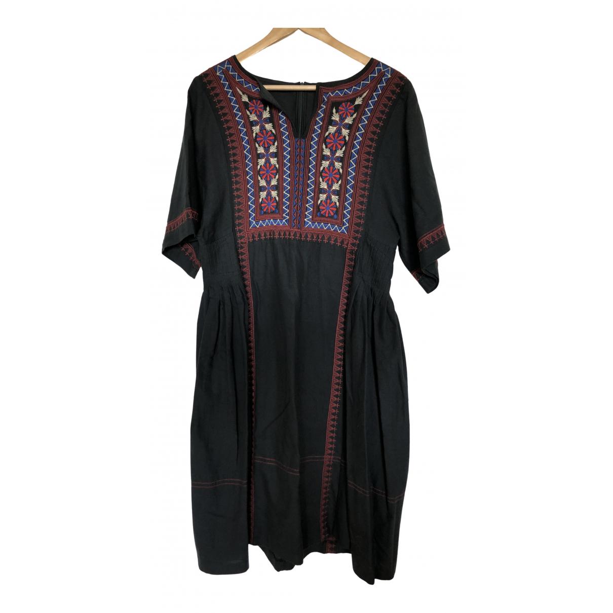 Toast \N Kleid in  Grau Baumwolle