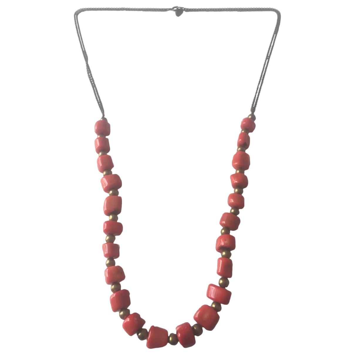 Isabel Marant Etoile \N Orange Metal necklace for Women \N