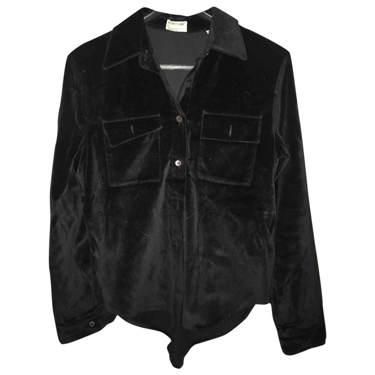 Helmut Lang \N Black Velvet jacket for Women M International