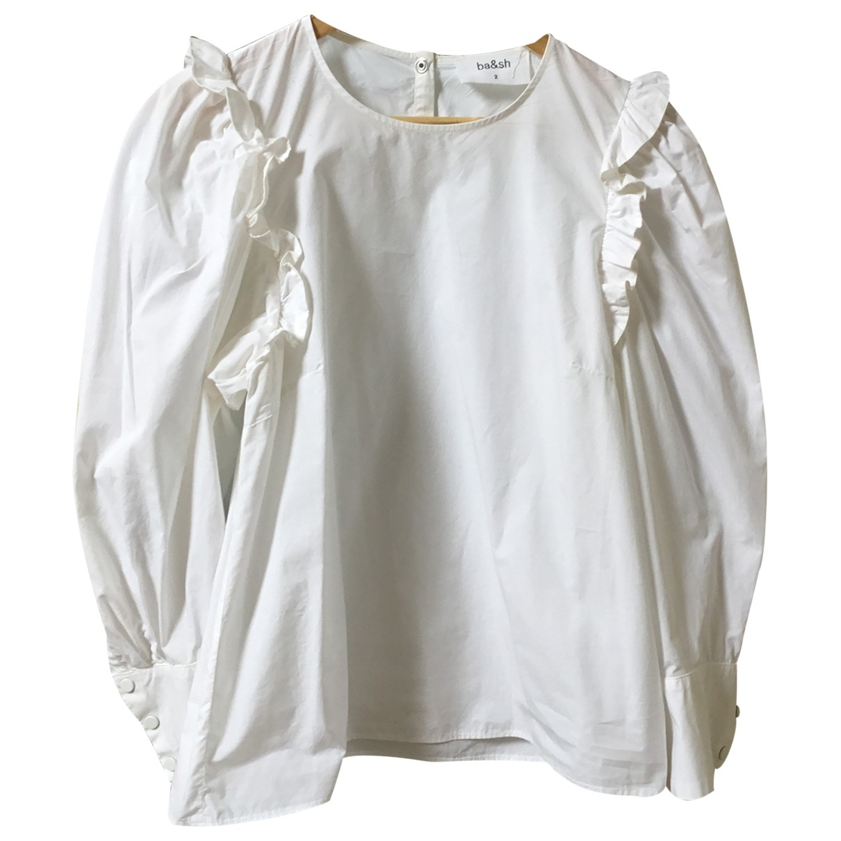 Ba&sh Spring Summer 2020 Ecru Cotton  top for Women 40 FR