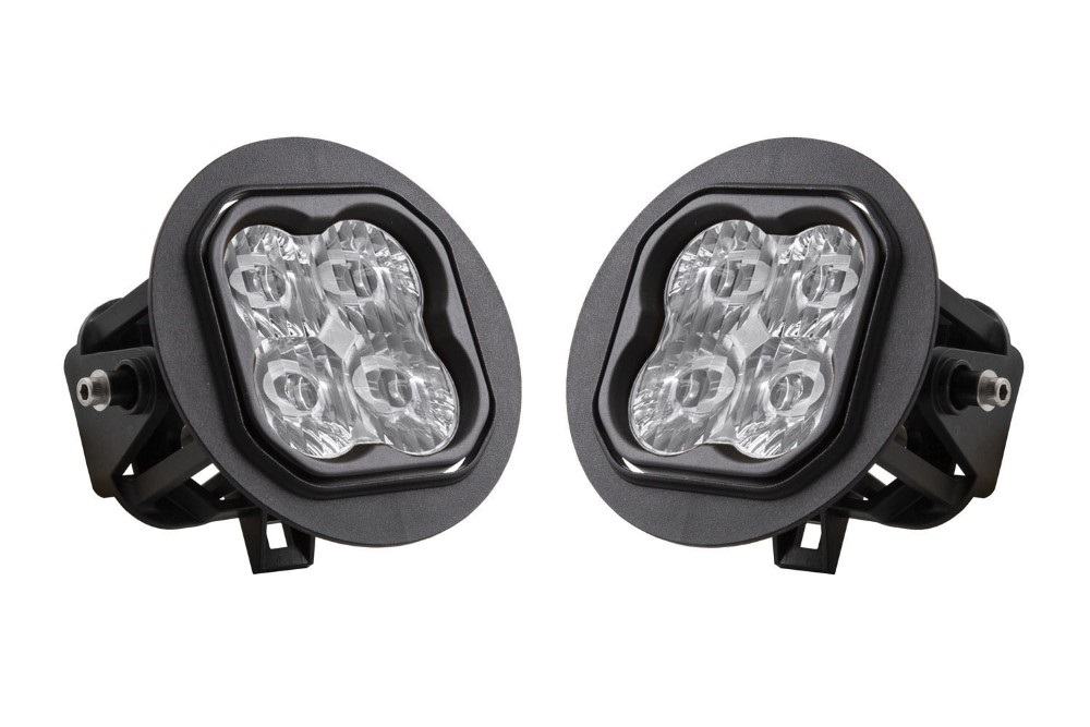 Diode Dynamics DD6229 Stage Series 3 Inch Type FT SS3 Fog Light Kit 1,520 Lumens White SAE Driving