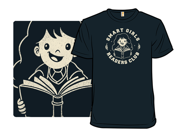 Smart Girls Readers Club T Shirt