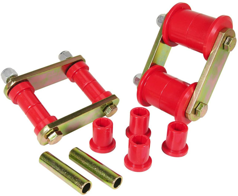 Prothane 1-811 HD Shackle Bushings - Red AMC 1964-1969