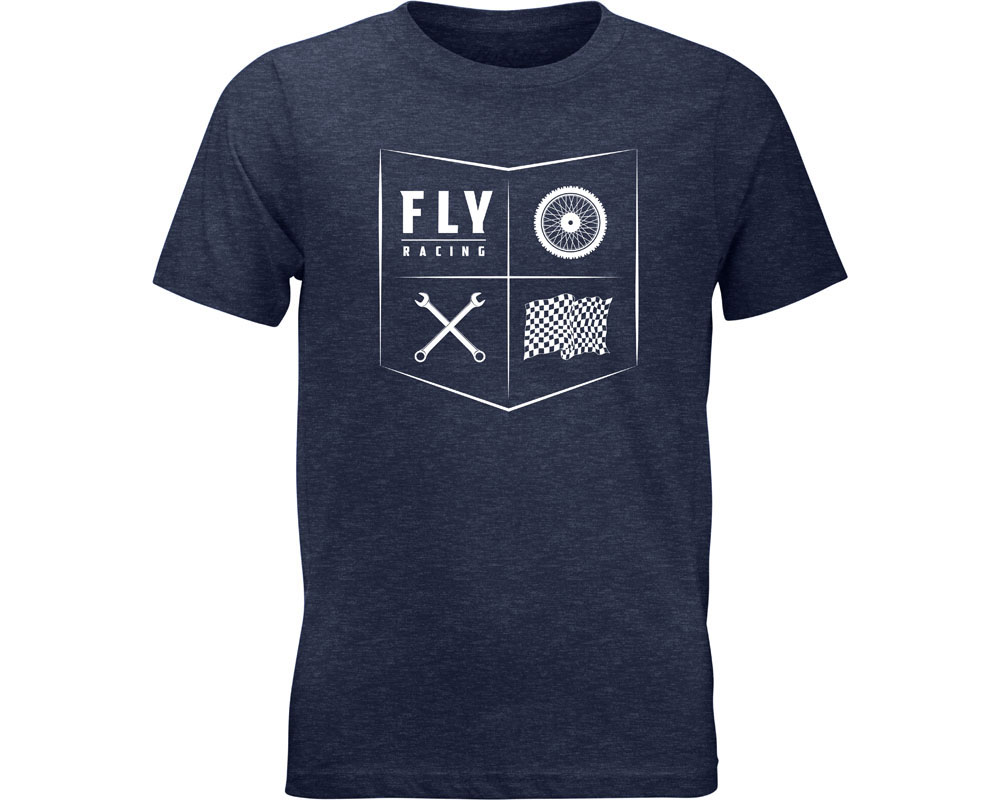 Fly Racing 352-1208YL Youth All Things Moto Tee