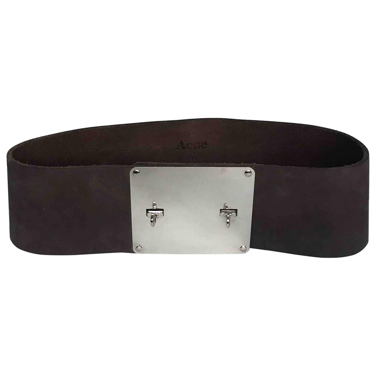 Cinturon de Cuero Acne Studios