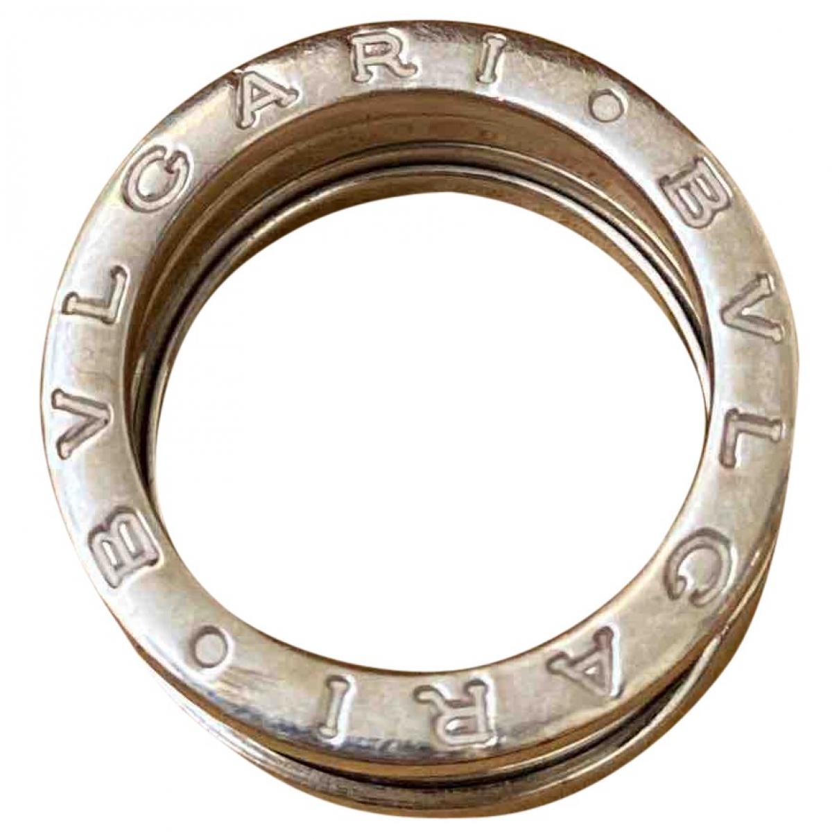Bvlgari - Bague B.Zero1 pour femme en or blanc - metallise