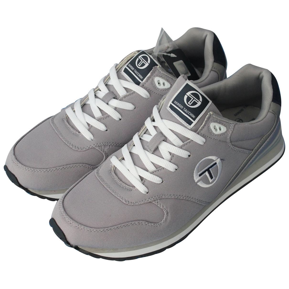 Sergio Tacchini - Baskets   pour homme en toile - gris