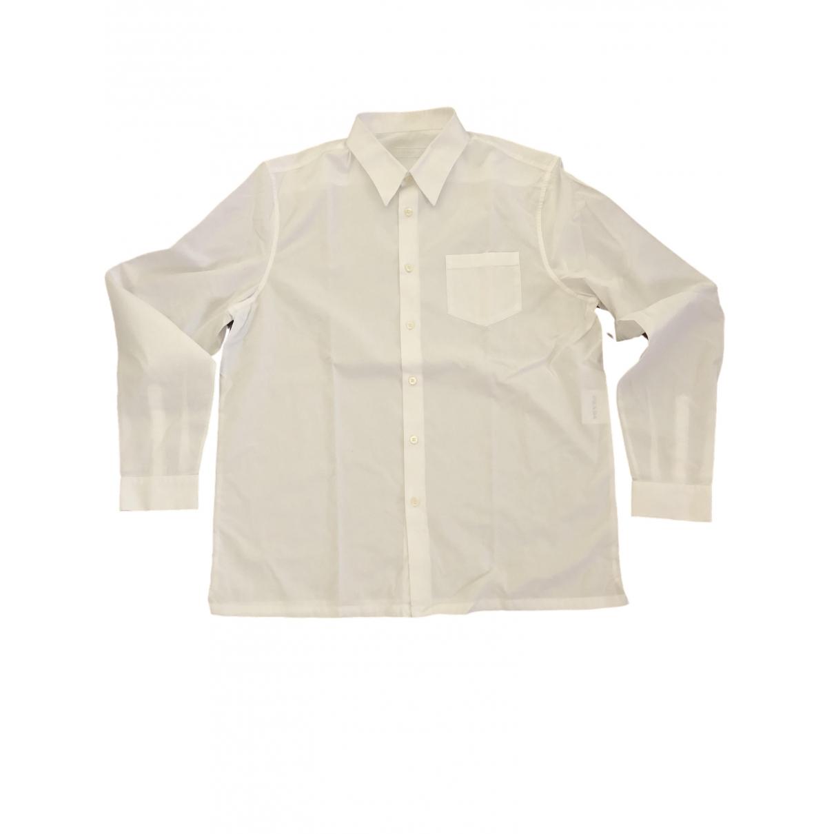 Prada - Chemises   pour homme en coton - blanc