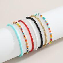7pcs Beaded Bracelet