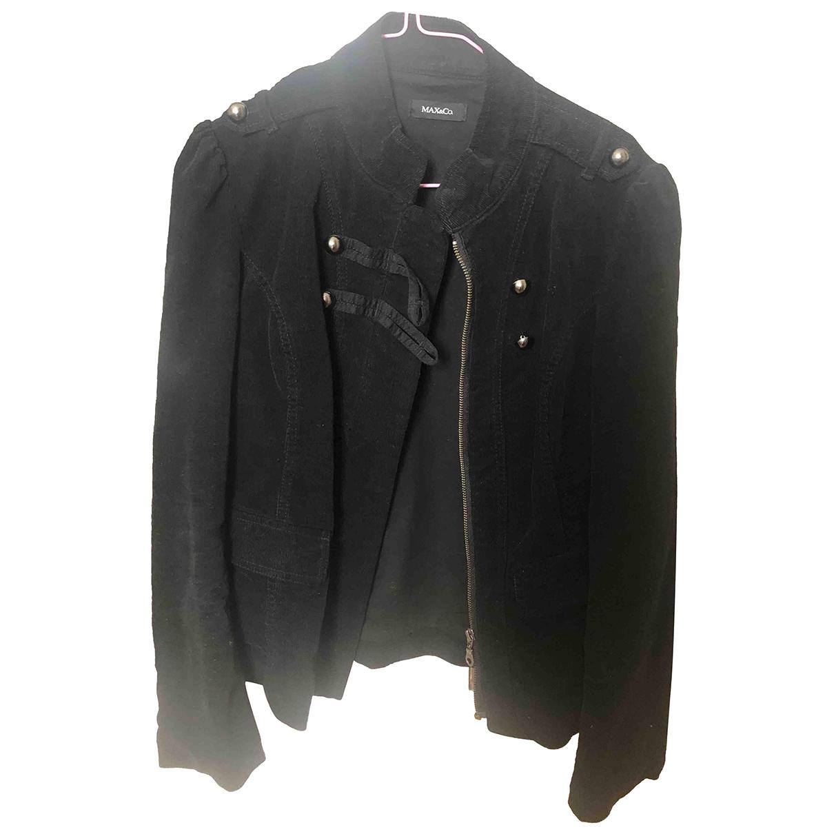 Max & Co - Veste   pour femme en velours - noir