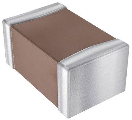 AVX 0805 (2012M) 1nF Multilayer Ceramic Capacitor MLCC 100V dc ±5% SMD 08051A102JAT2A (100)
