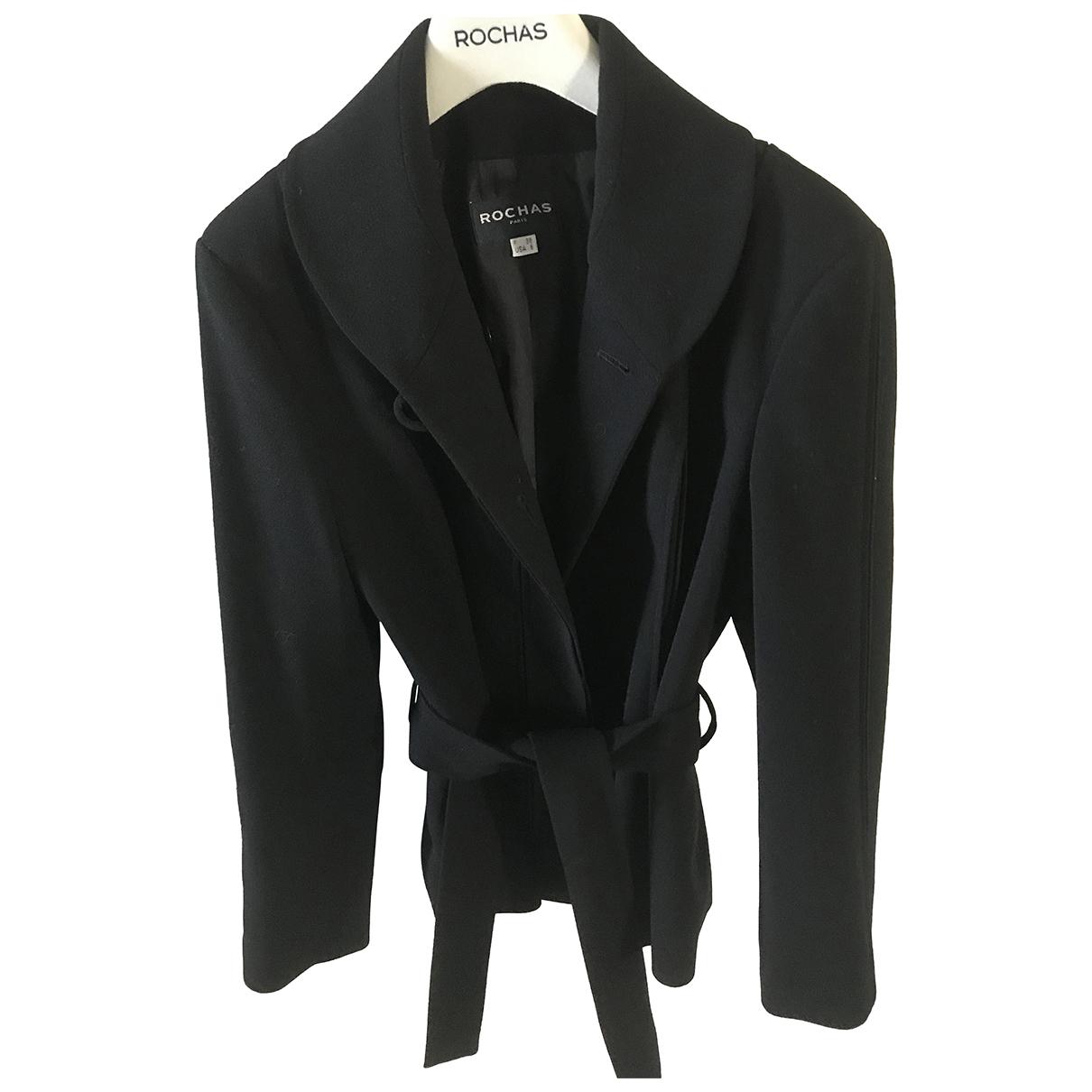 Rochas N Black Wool jacket for Women 38 FR