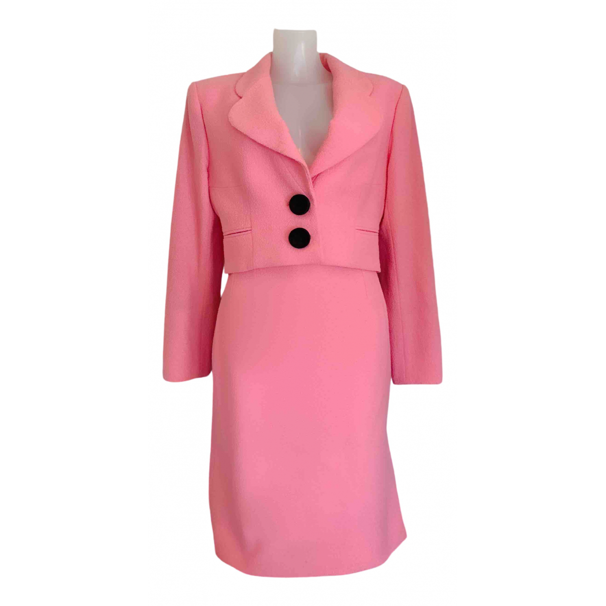 Dior \N Pink Wool jacket for Women 44 FR