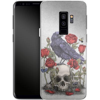 Samsung Galaxy S9 Plus Silikon Handyhuelle - Memento Mori von Terry Fan