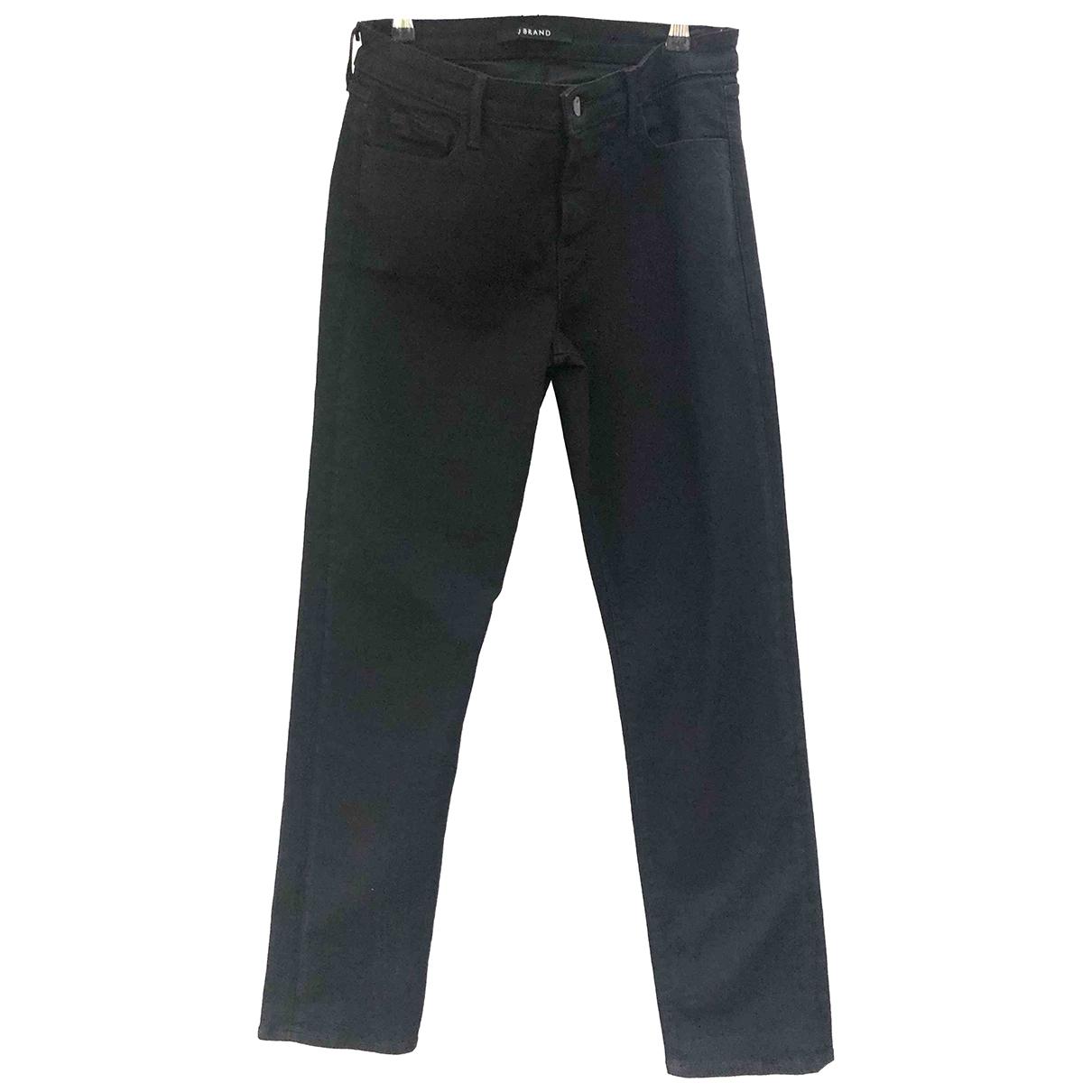 J Brand \N Black Cotton - elasthane Jeans for Women 30 US