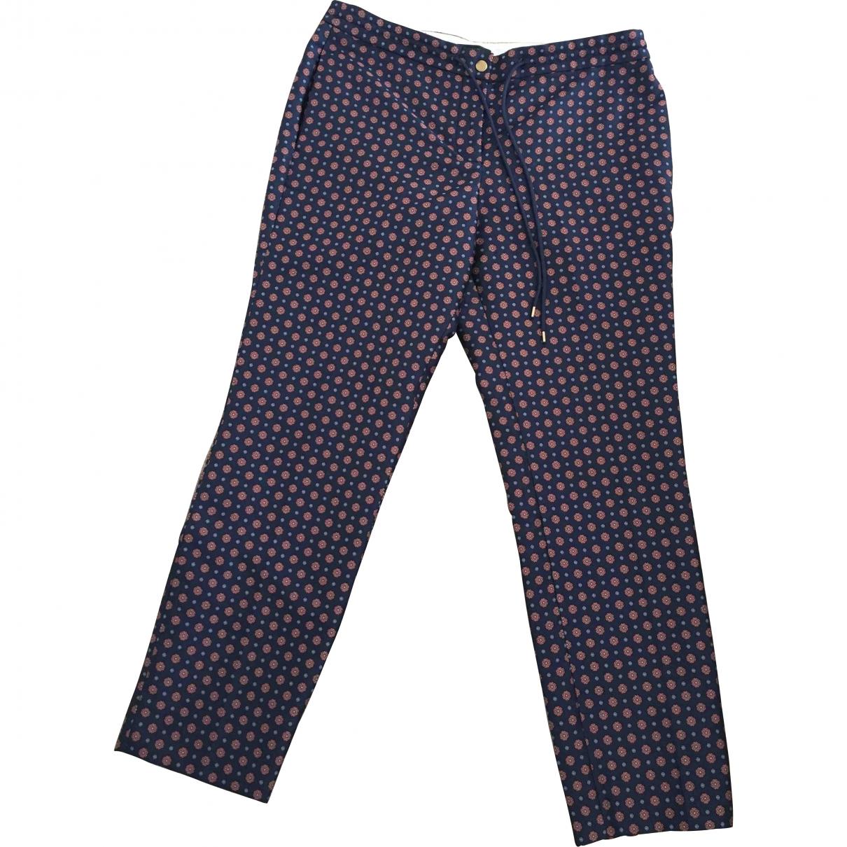 J.crew \N Purple Trousers for Women 8 US