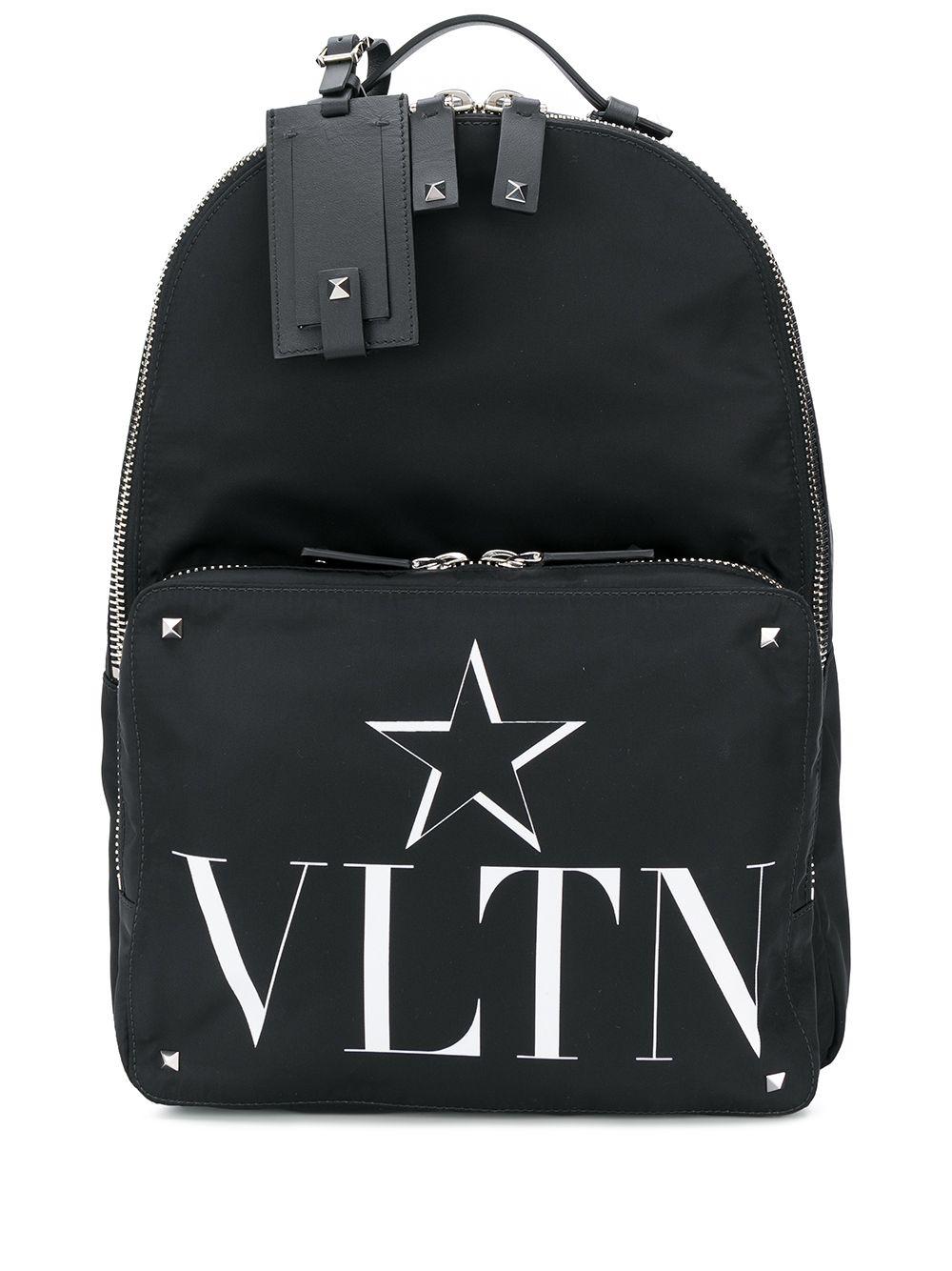 Vltn Leather Backpack