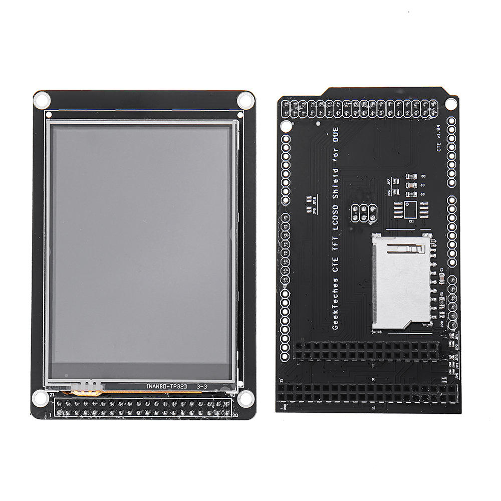 3.2 Inch TFT LCD Display + TFT/SD Shield For MEGA 2560 LCD Module SD level Translation 2.8 3.2 DUE GeekTeches for Arduin