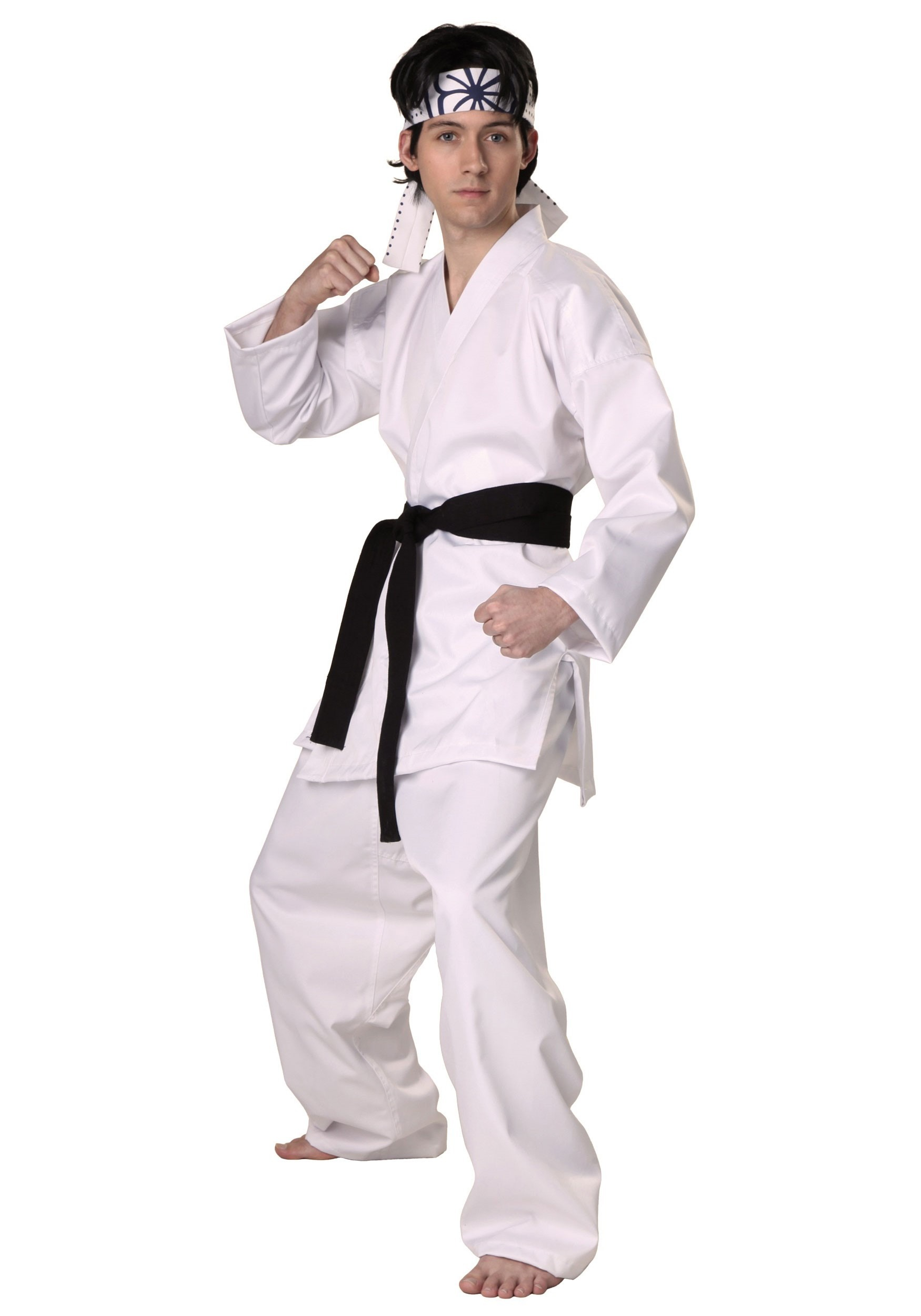 Authentic Karate Daniel San Costume For Adults