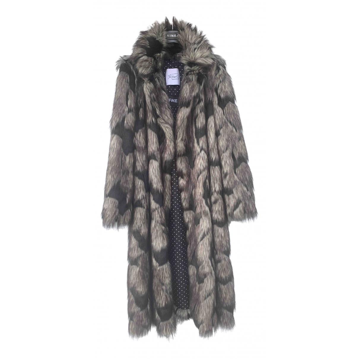 De Hart - Manteau   pour femme en fourrure synthetique