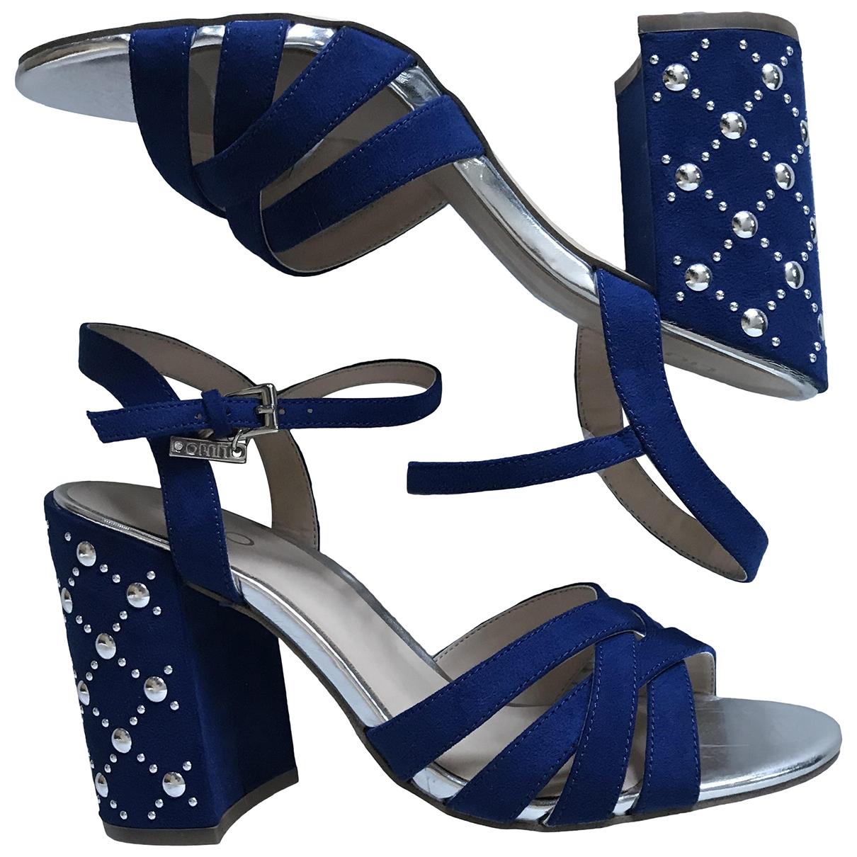 Liu.jo \N Sandalen in  Blau Leder